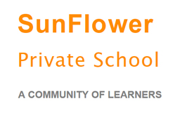 SunFlo​wer Private School Logo